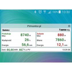 PVmonitor na Androida
